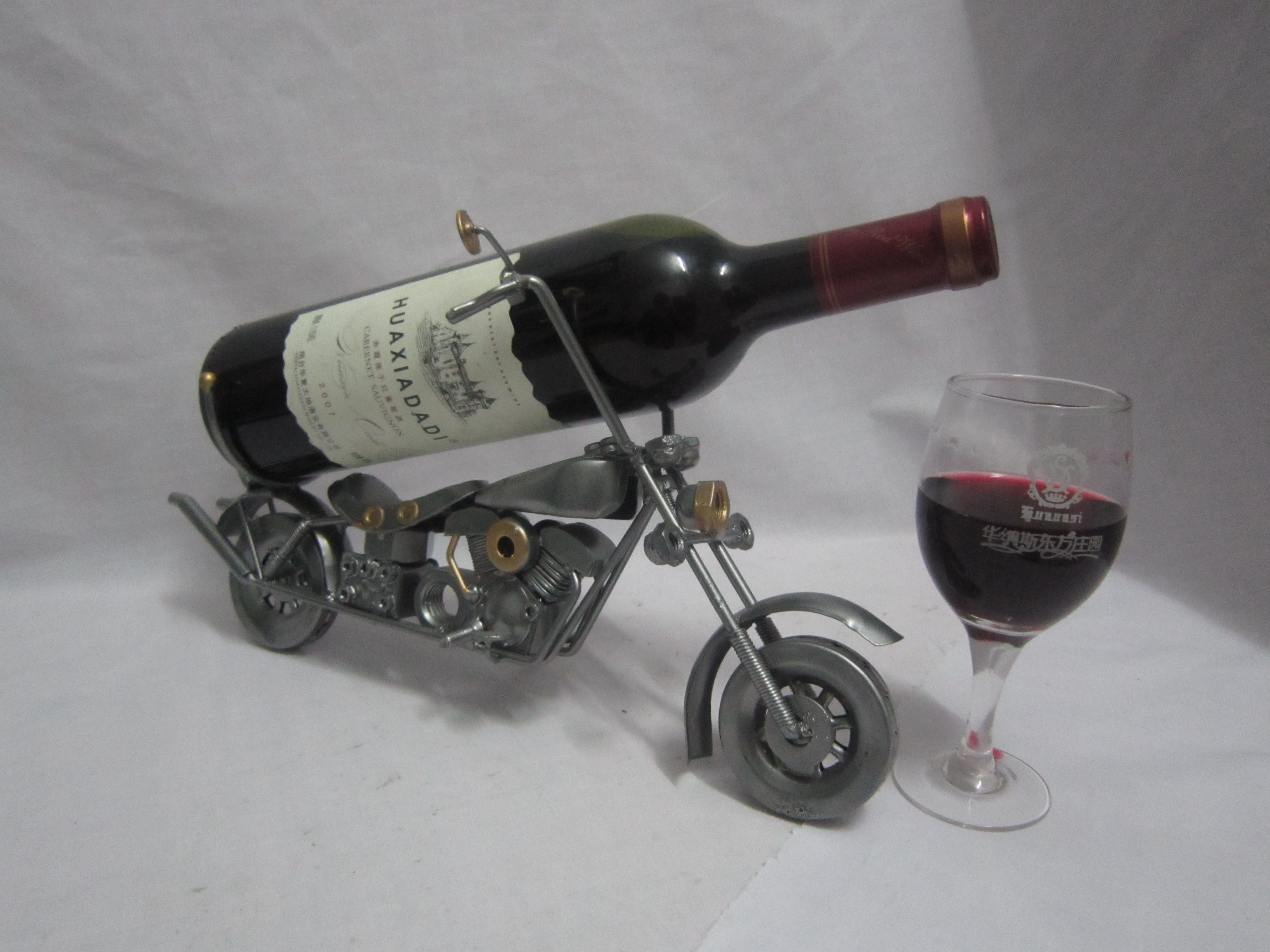 Motorcycle/metal Motorcycle Model/wine Caddy/wine Holder