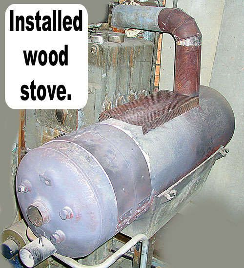 Convert A Hot Water Heater Into A Wood Stove Wood