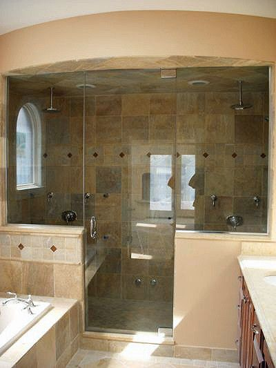 Glass Steam Shower Enclosures | Binswanger Glass | Frameless steam ...