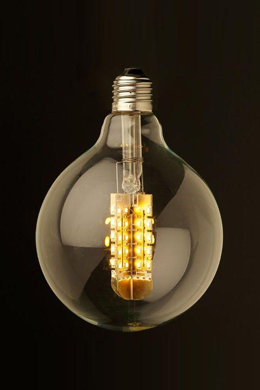 Marz Designs Sydney 9 Watt Dimmable Led E27 125 Fancy Round Bulb Com Imagens Iluminacao