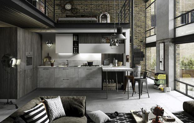 Una cucina open space da vera chef deco pinterest