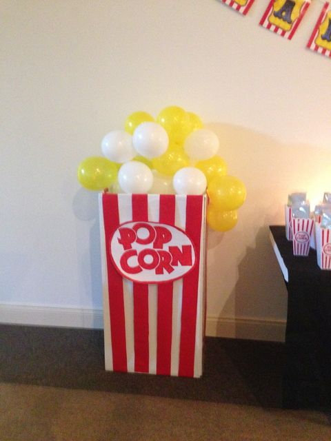 Drive In Movie Birthday Party Ideas Photo 2 Of 16 Movie Birthday Party Movie Theme Birthday Party Movie Themed Party