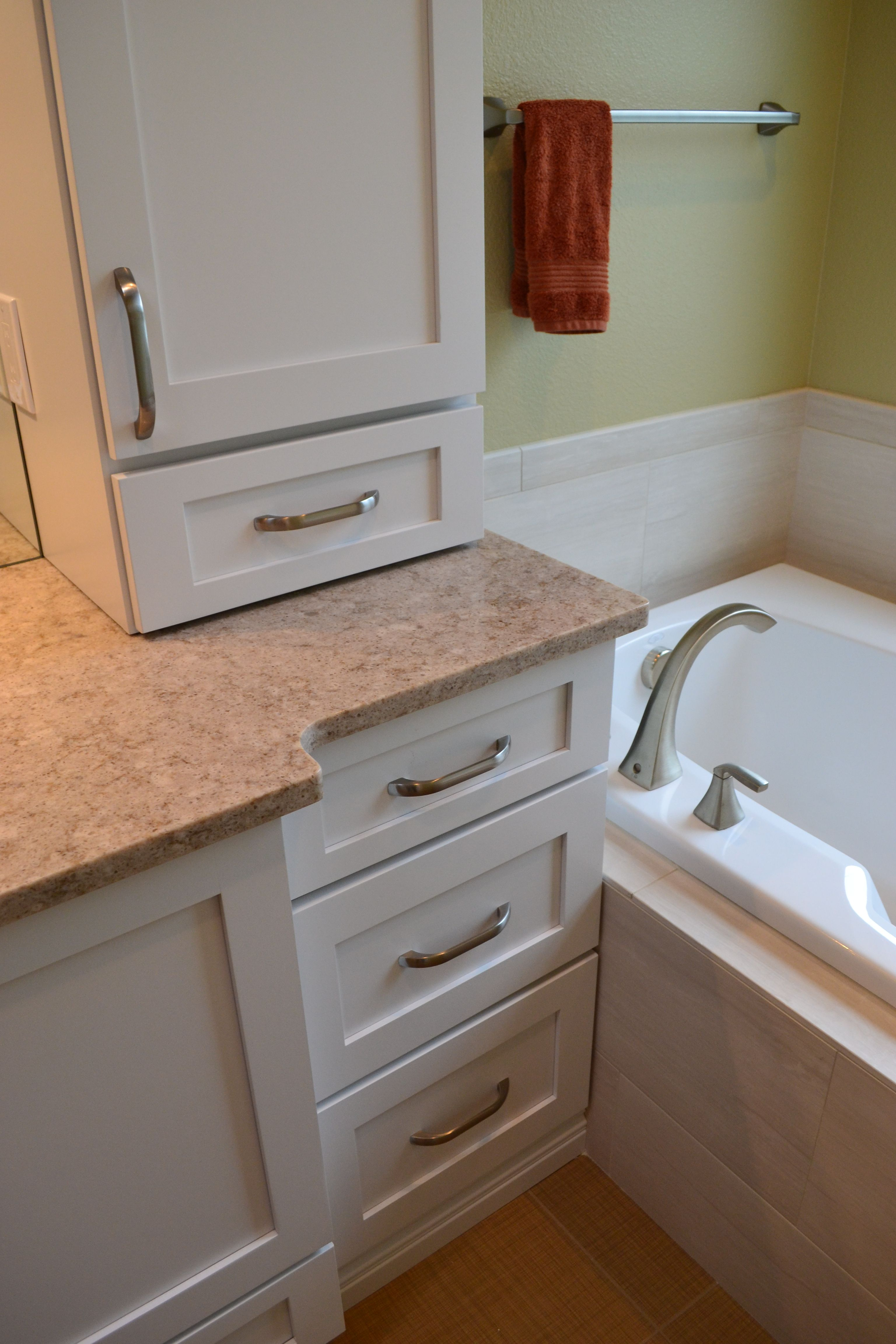 Bathroom Cabinets Next Vanity Next To Tub Company Projects Pinterest Tubs And Vanities