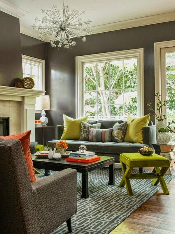 Comfortable Living Room Color Schemes And Paint Color Ideas