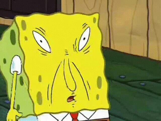 Weird Faces Spongebob 1