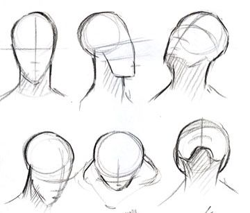 Faces Poses Drawings Drawing People Face Drawing