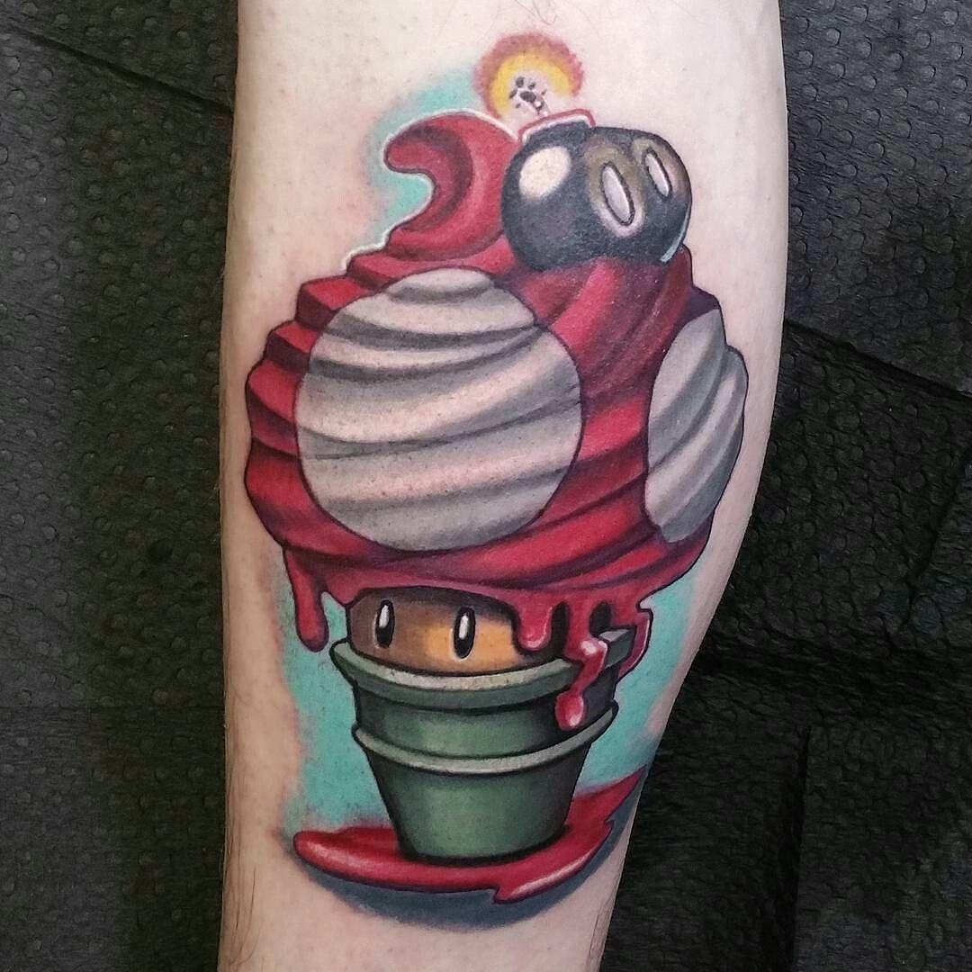 Pin by Cjay Levine on Tattoo stuffs Nintendo tattoo