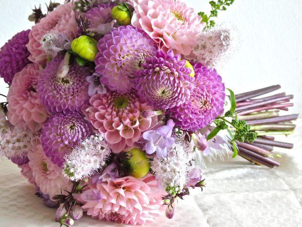 Dahlia Centerpiece Bouquet Dahlia Centerpiece Centrepiece Bouquet Wedding Flower Design