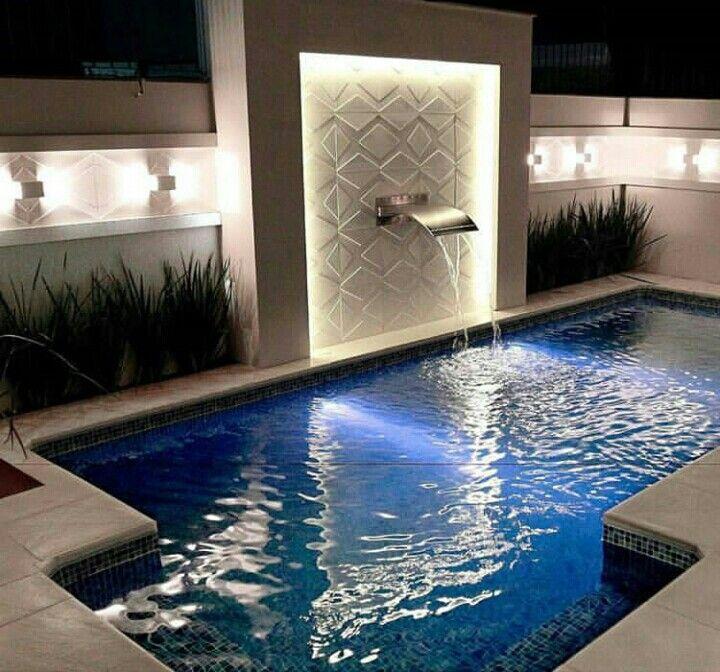 Rea externa piscina em alvenaria andarelas al aire for Idea paisajismo patio al aire libre