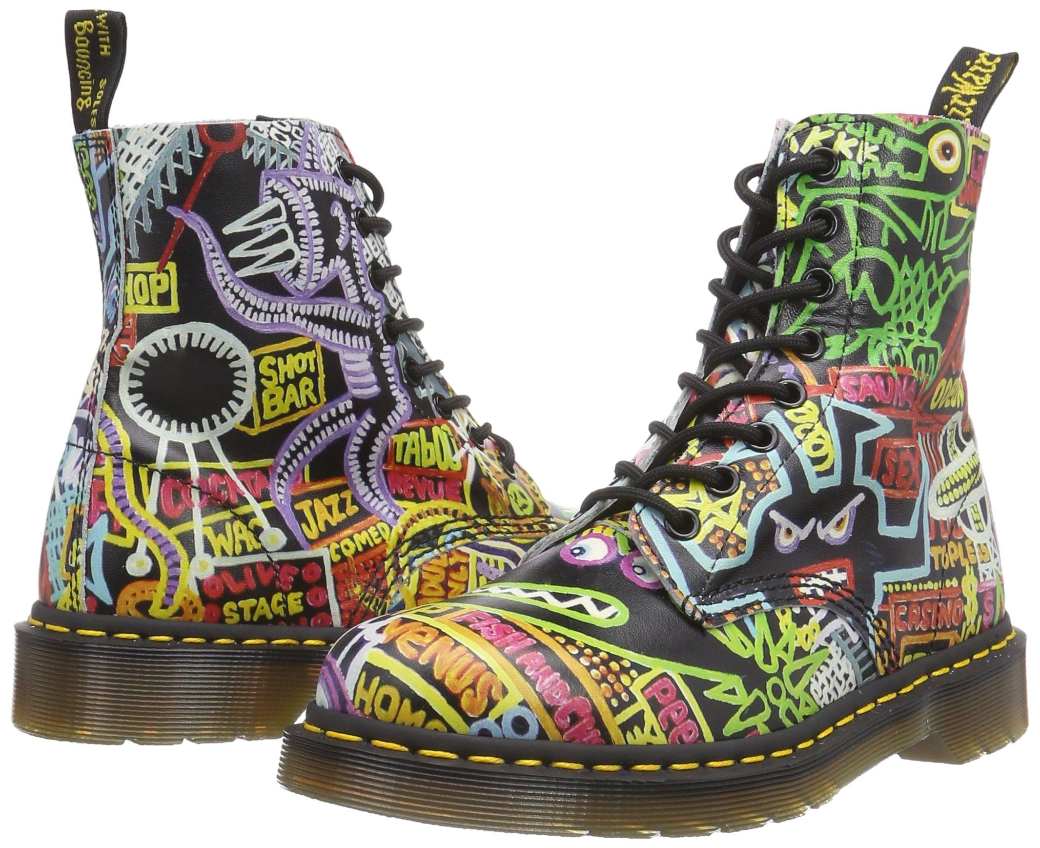 c137f8f38ecc9 Dr. Martens Pascal Softy T Multi Kaboom, Women's Boat Shoes: Amazon ...