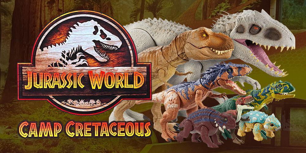 Onde comprar Jurassic World Camp Cretaceous Toys + HD
