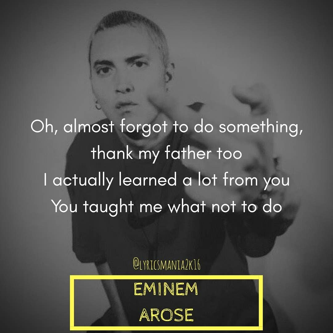 Pin By Nemmmmy On Eminem In 2019 Eminem Quotes Eminem