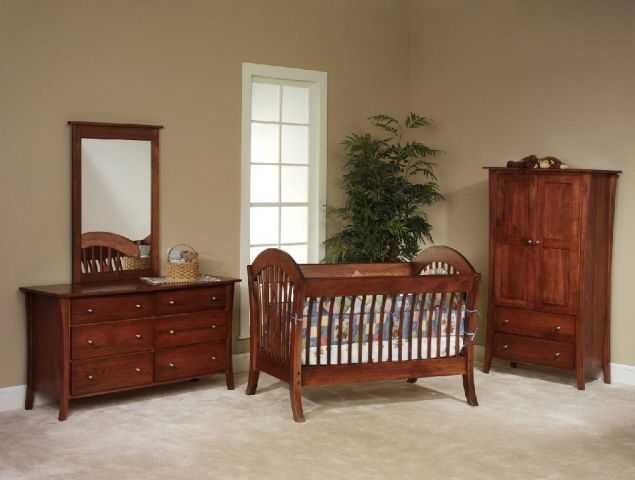 Manhattan Crib Set(Kids Comfort)Elmer\'s Custom Amish Furniture ...