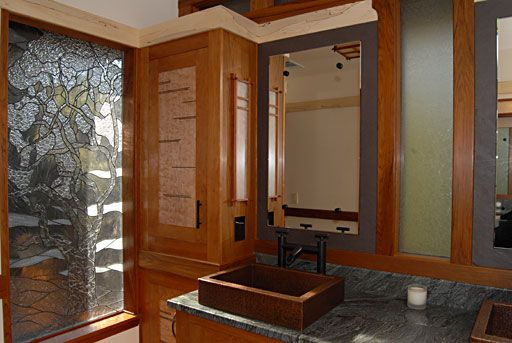Wanna Have Arts And Craft Style Bathroom But You Have No Idea For Making It  Comes True? See The Arts And Craft Style Bathroom Idea Here.