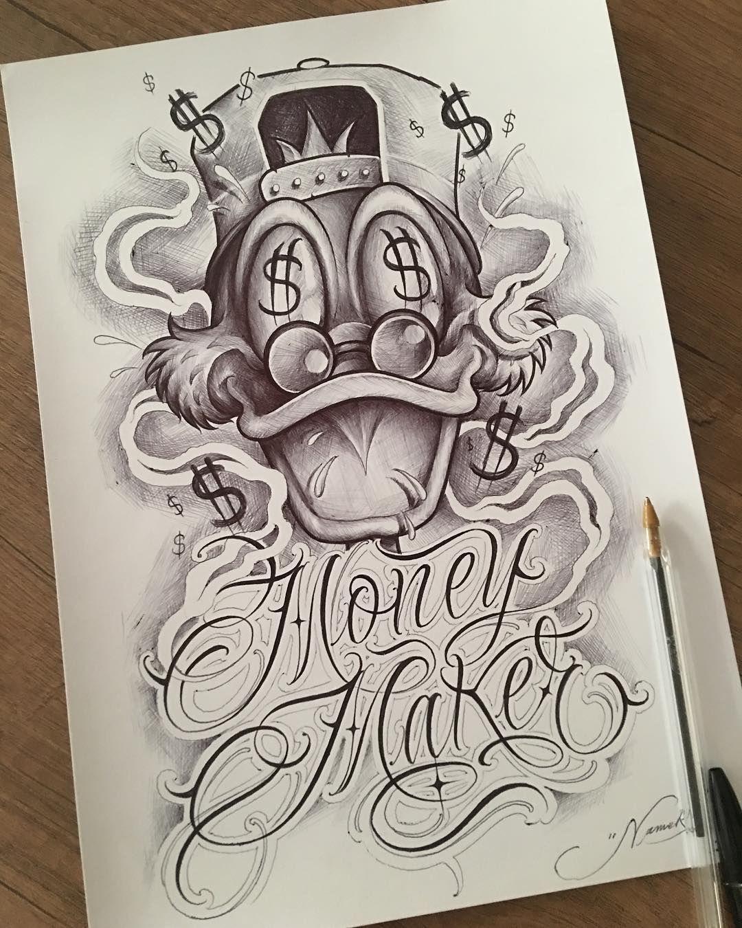 Desenho Palhaço Tatuagem nenhuma descrição de foto disponível. | tatuagem de dinheiro