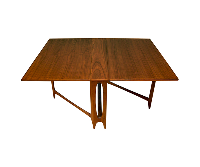 Creative Of Modern Drop Leaf Table With Mid Century Dining Danish La Mherger Furniture