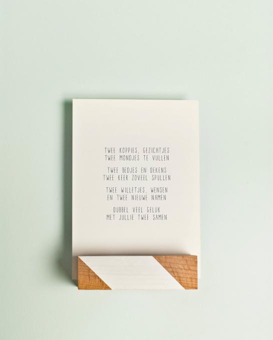 Magnifiek Kindje geboren? Op zoek naar een versje op een kaartje of poster #IZ69