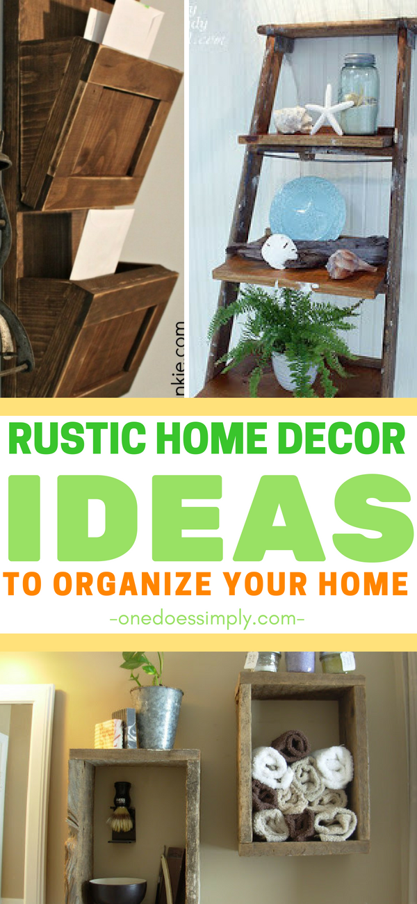 These rustic home decor ideas are super creative bring some country style to your with diy that you can craft on  budget also rh pinterest