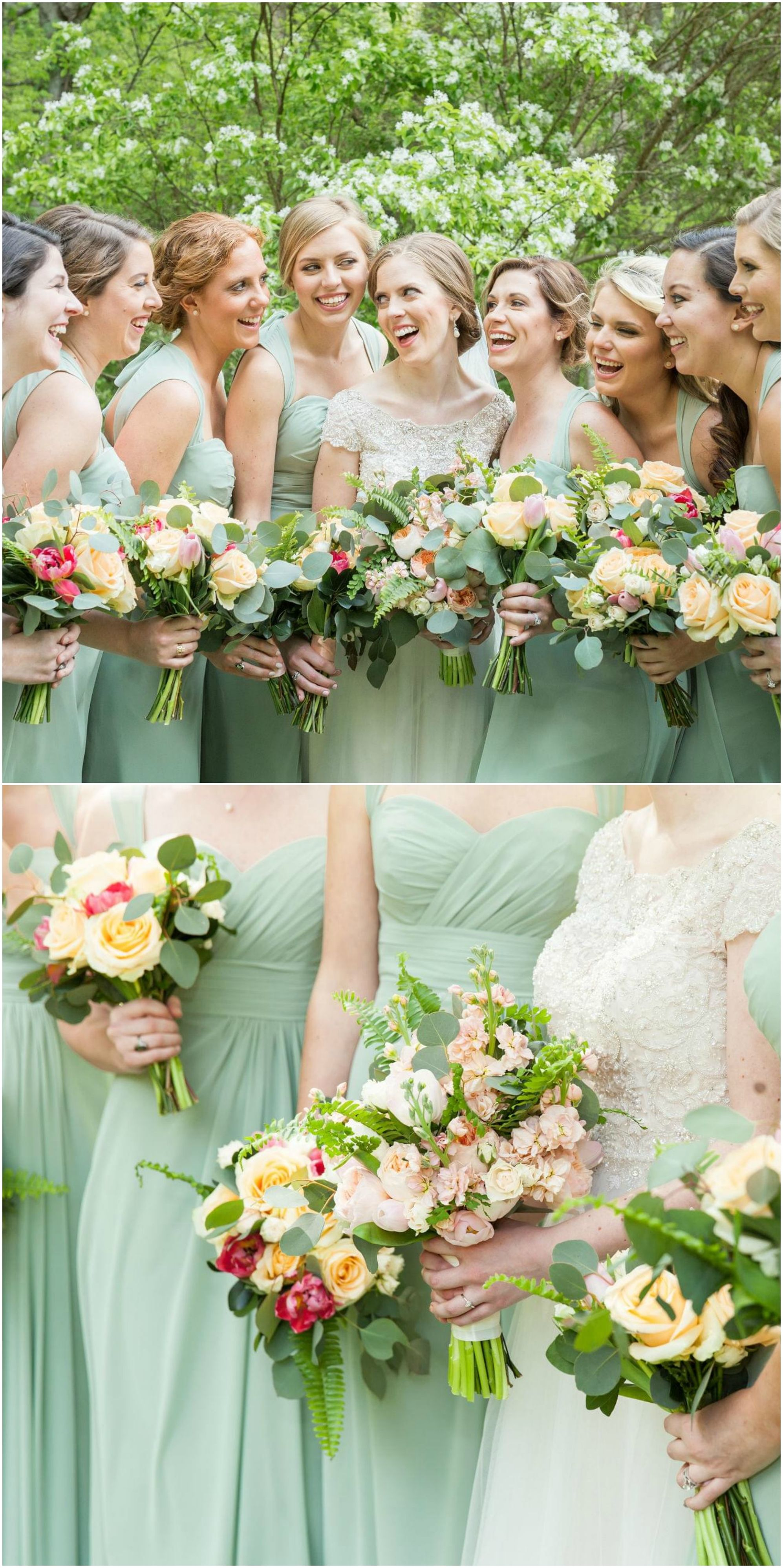 The smarter way to wed chiffon bridesmaid dresses green wedding bridal style spring green chiffon bridesmaid dress long gowns spring wedding ombrellifo Image collections