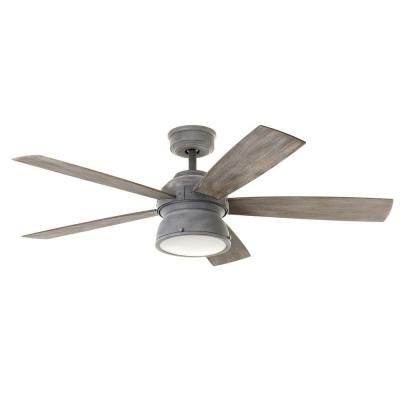 The Home Depot Logo Farmhouse Ceiling Fan Gray Ceiling Fan Ceiling Fan In Kitchen