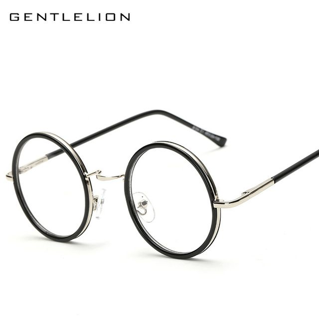 Better Price $8.20, Buy Vintage Brand Design Big Round Glasses Frame ...