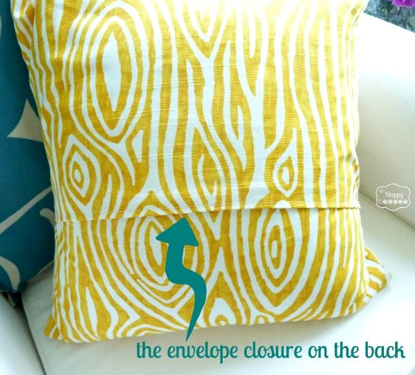 Sewing ideas & Super Crazy Easy Fast Ten Minute One-Piece Envelope Pillows ... pillowsntoast.com