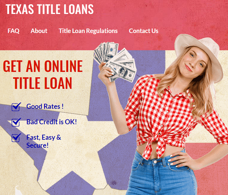 Online Title Loans In Texas Get Same Day Cash For Your Car Consumer Debt Cash Loans Easy Cash