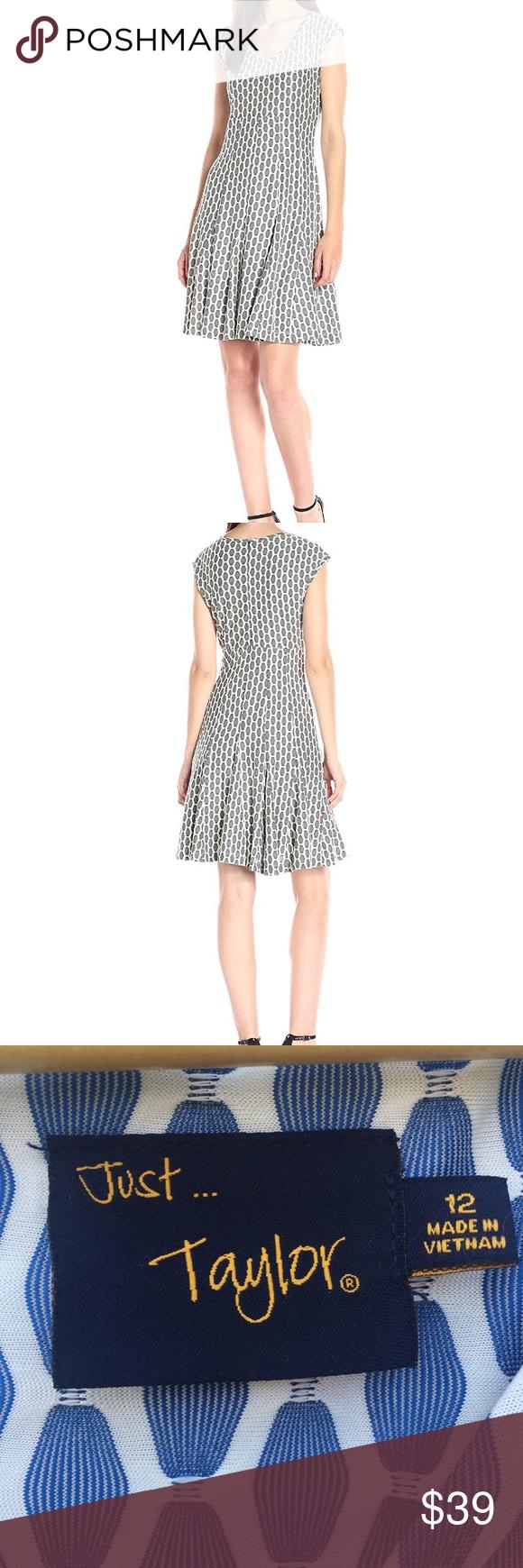 Just Taylor Midi Blue White Summer Dress Size 12 White Dress Summer Clothes Design Taylor Dress [ 1740 x 580 Pixel ]
