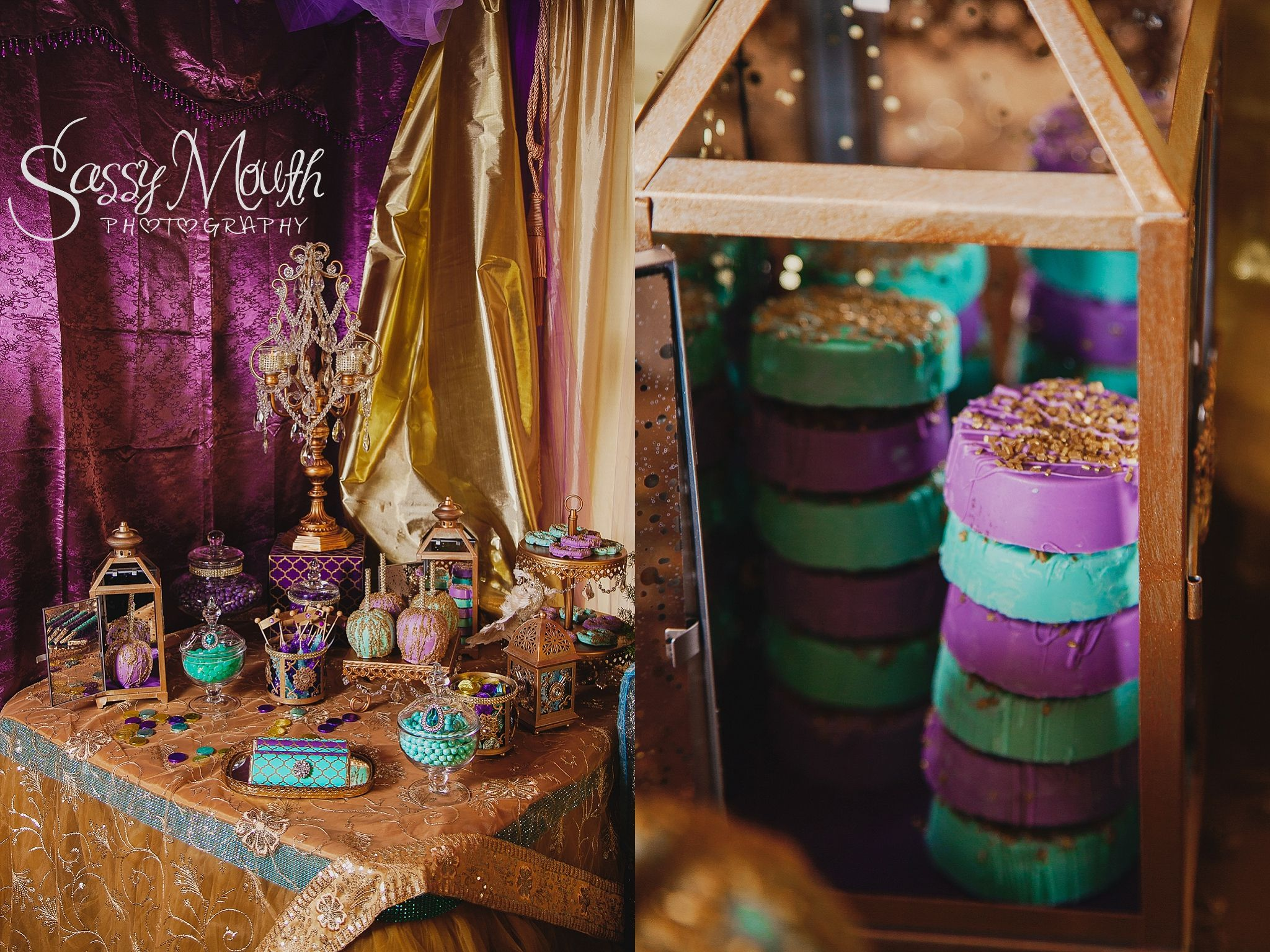 Candy Table Arabian Nights Aladdin Wedding Princess Jasmine Bride Sassy Mouth Photography Photo Series