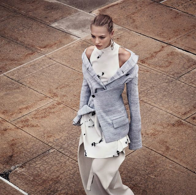 Agnes Akerlund | Vogue China Janeiro 2017 | Editoriais - Revistas de Moda