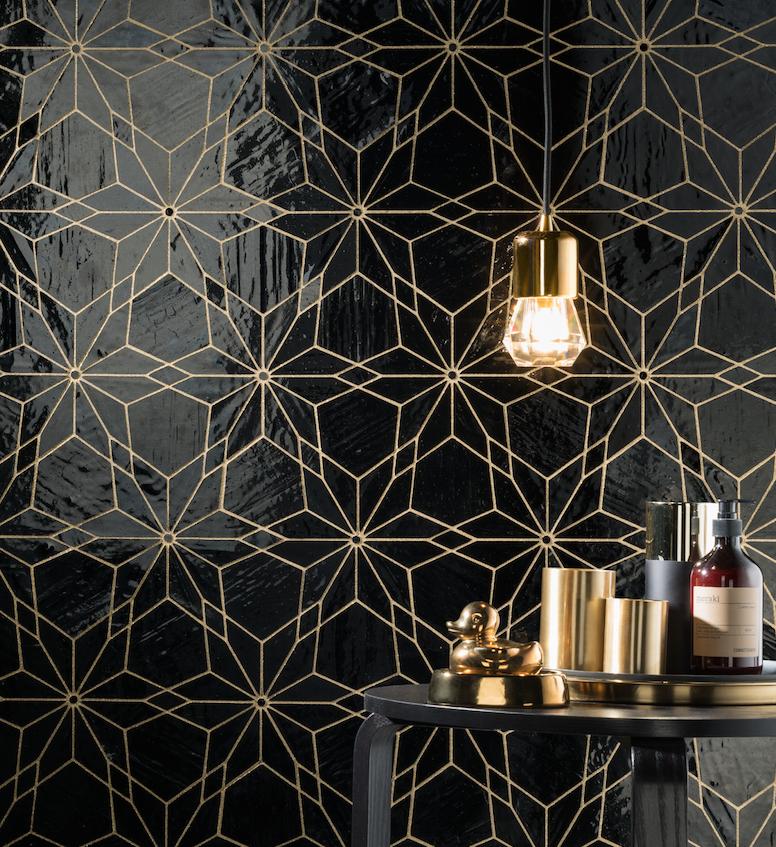 Glitter Wallpaper Bedroom