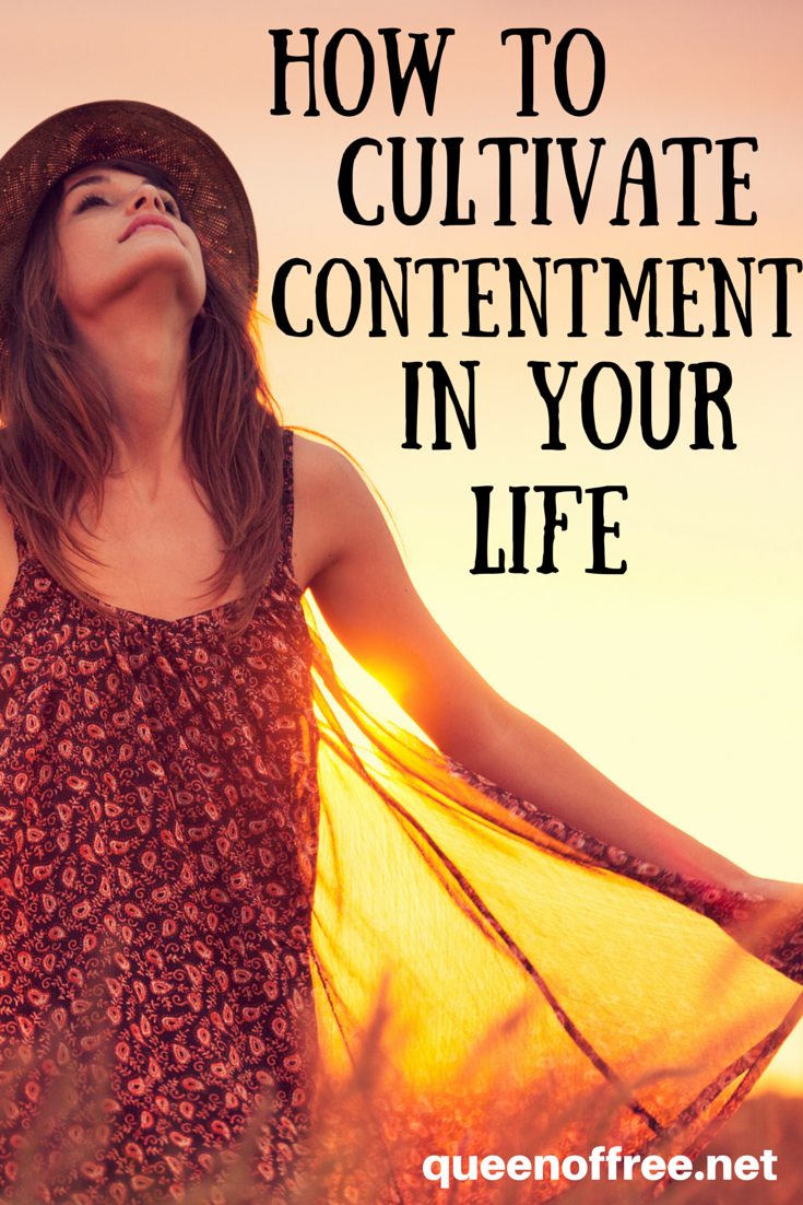 Longing for for more peace and well being? These practices will bring you contentment when you struggle with wanting what others have.