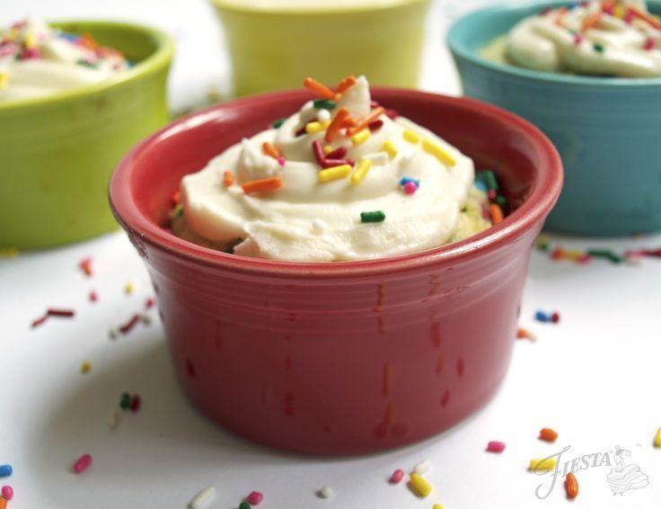 Fiesta Dinnerware Cupcake Recipe on the blog at www.alwaysfestive.com.