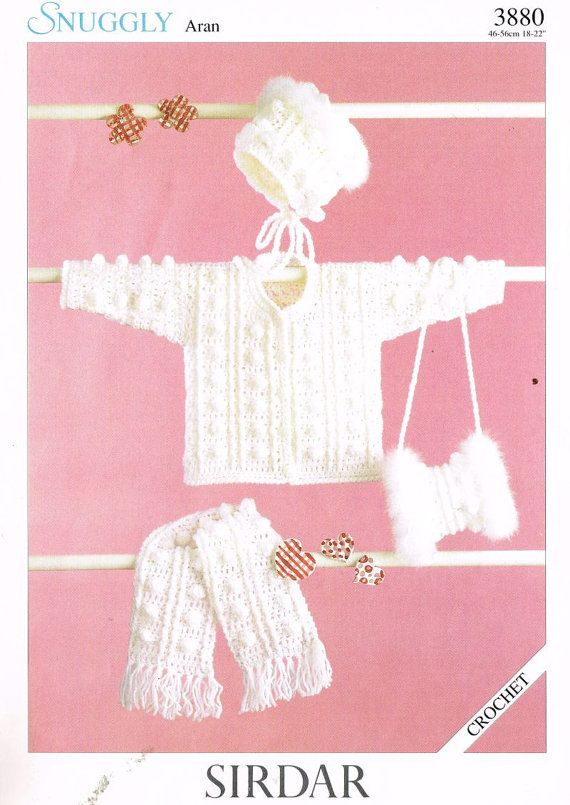 Sirdar en doble Knitting-patrón 7010