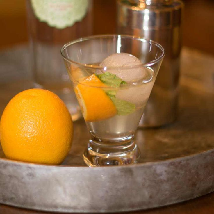 Gin Smash with Orange #bestgincocktails