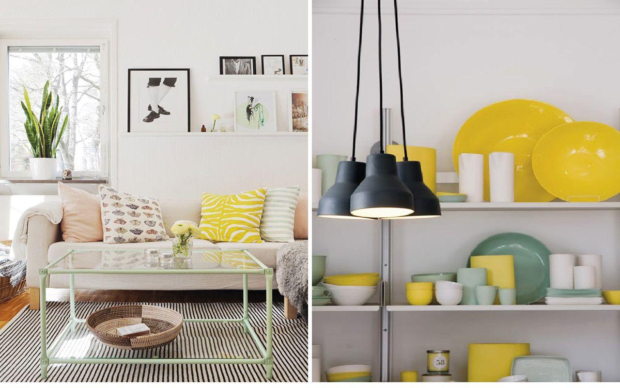 d co verte et jaune tendance tropicale et exotique et une touche de br sil dans la maison. Black Bedroom Furniture Sets. Home Design Ideas