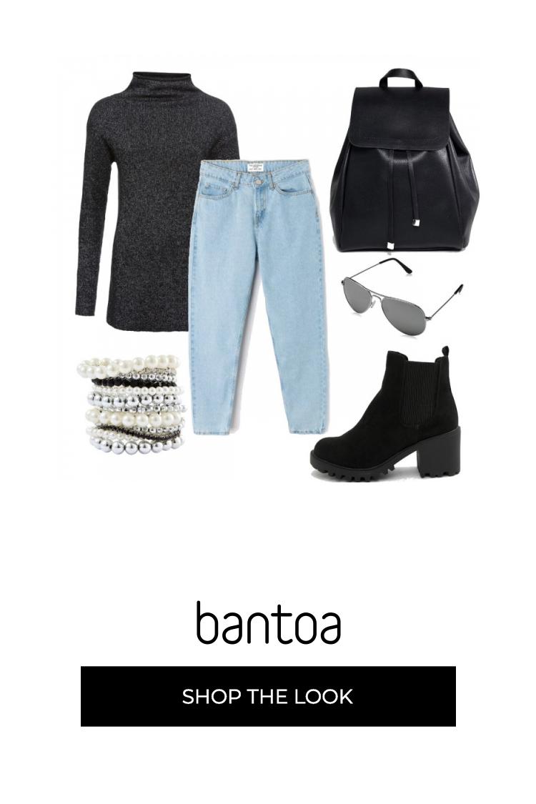 Outfit perfetto per scuola, in particolare per i mesi di