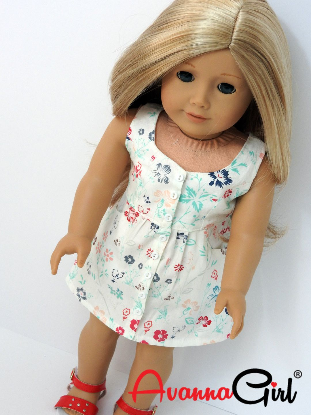 Surfrider Sundress for American Girl Doll, 18 Inch Doll ...