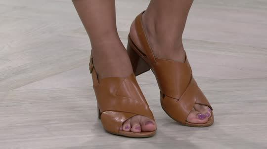 516b075ab Stylish sophistication spans the seasons with these Clarks Artisan sandals.  QVC.com