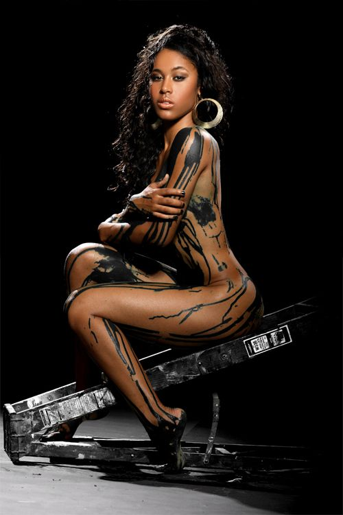 Black women sexy body