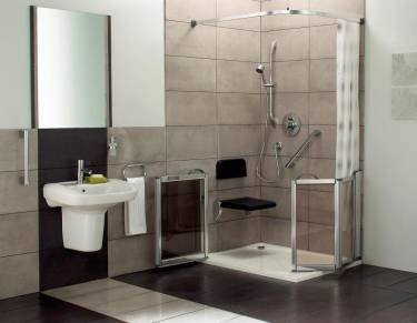 Level Access Showers | Disabled Showers | Level Access Shower Trays | Blue  Moon Bathing