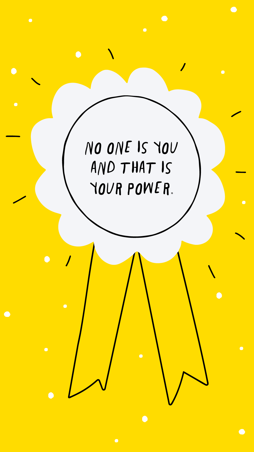 Simply Living - Think Happy Thoughts with These Motivational Quote and Affirmation Phone Wallpapers