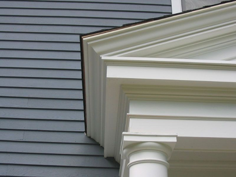 Portico Upper Railing Google Search Traditional Exterior House Exterior Molding And Millwork