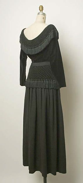 Yves Saint Laurent, Paris | Evening dress | French | The Metropolitan Museum of Art 1976-77