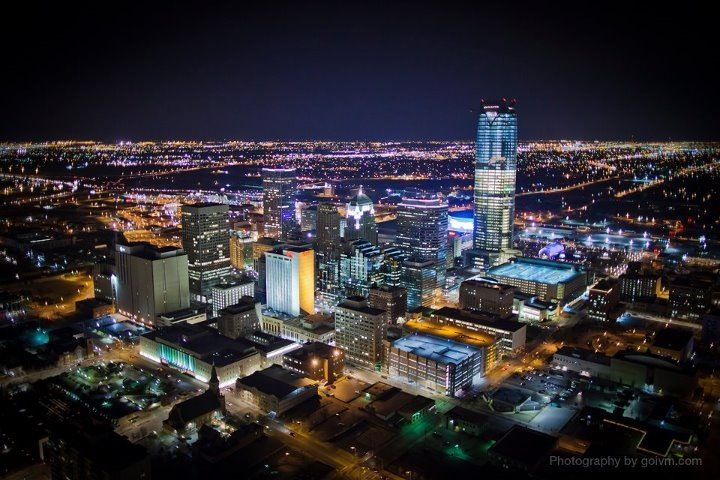 Oklahoma City!! Home sweet home!