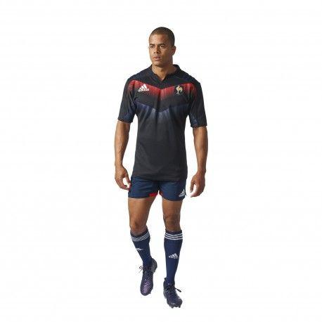 Maillot d'entraînement de l'Equipe de France de Rugby adidas