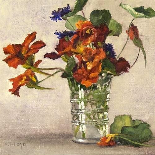 """Nasturtiums"" by Elizabeth Floyd"