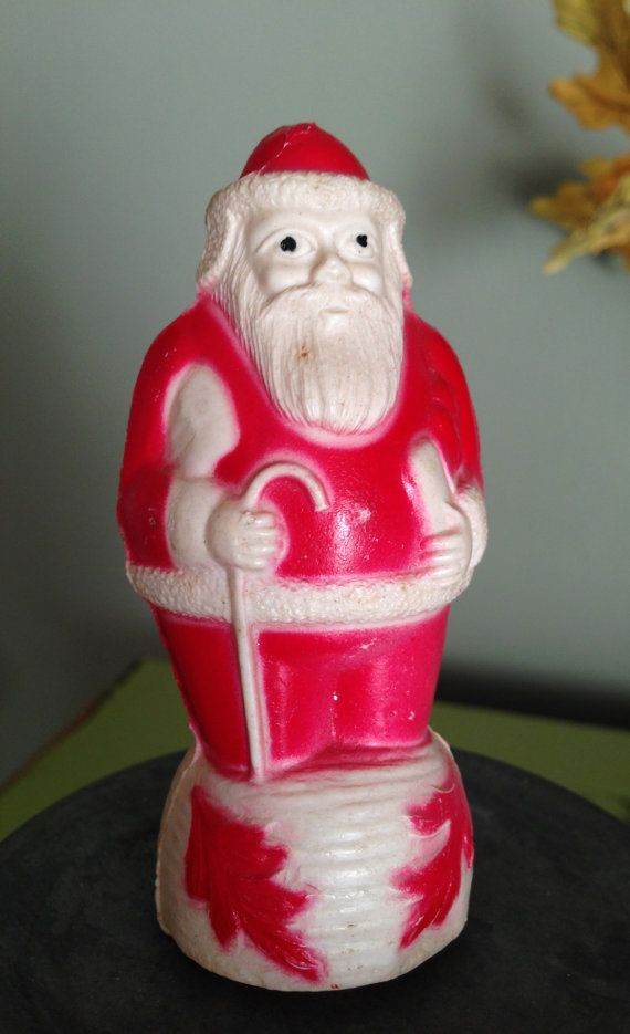 Antique Vintage Celluloid Santa Irwin by santashauntedboot on Etsy