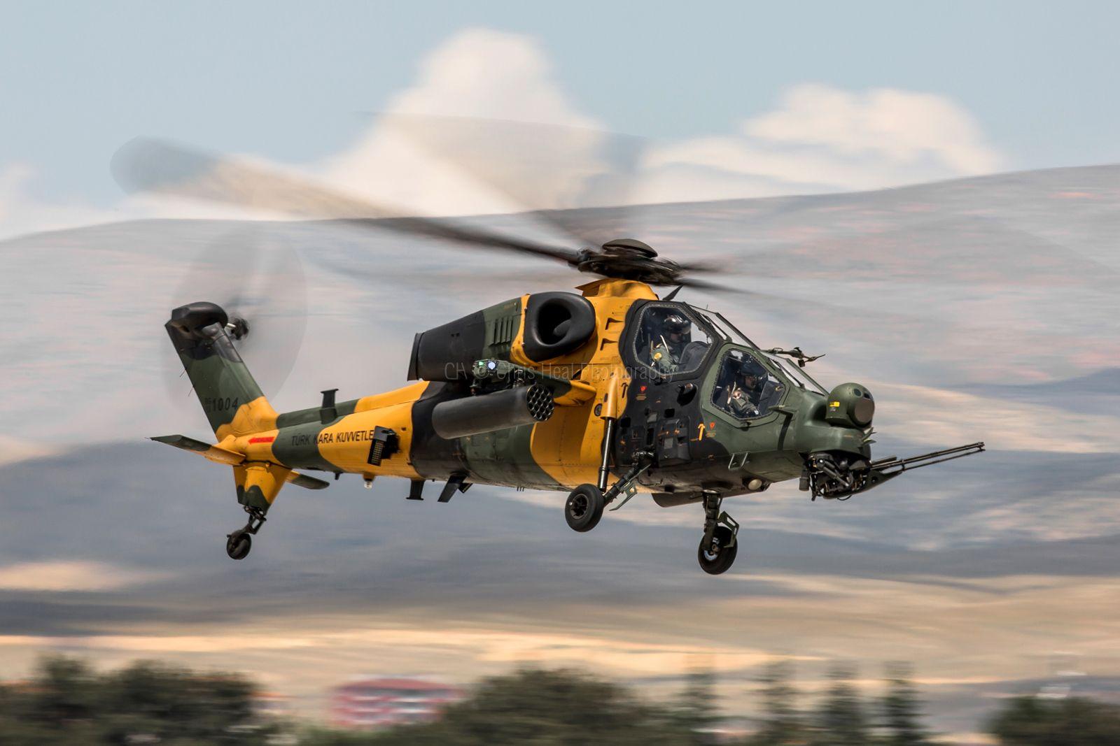 Обои T-129B, ВВС Турции, Ударный вертолёт. Авиация foto 15