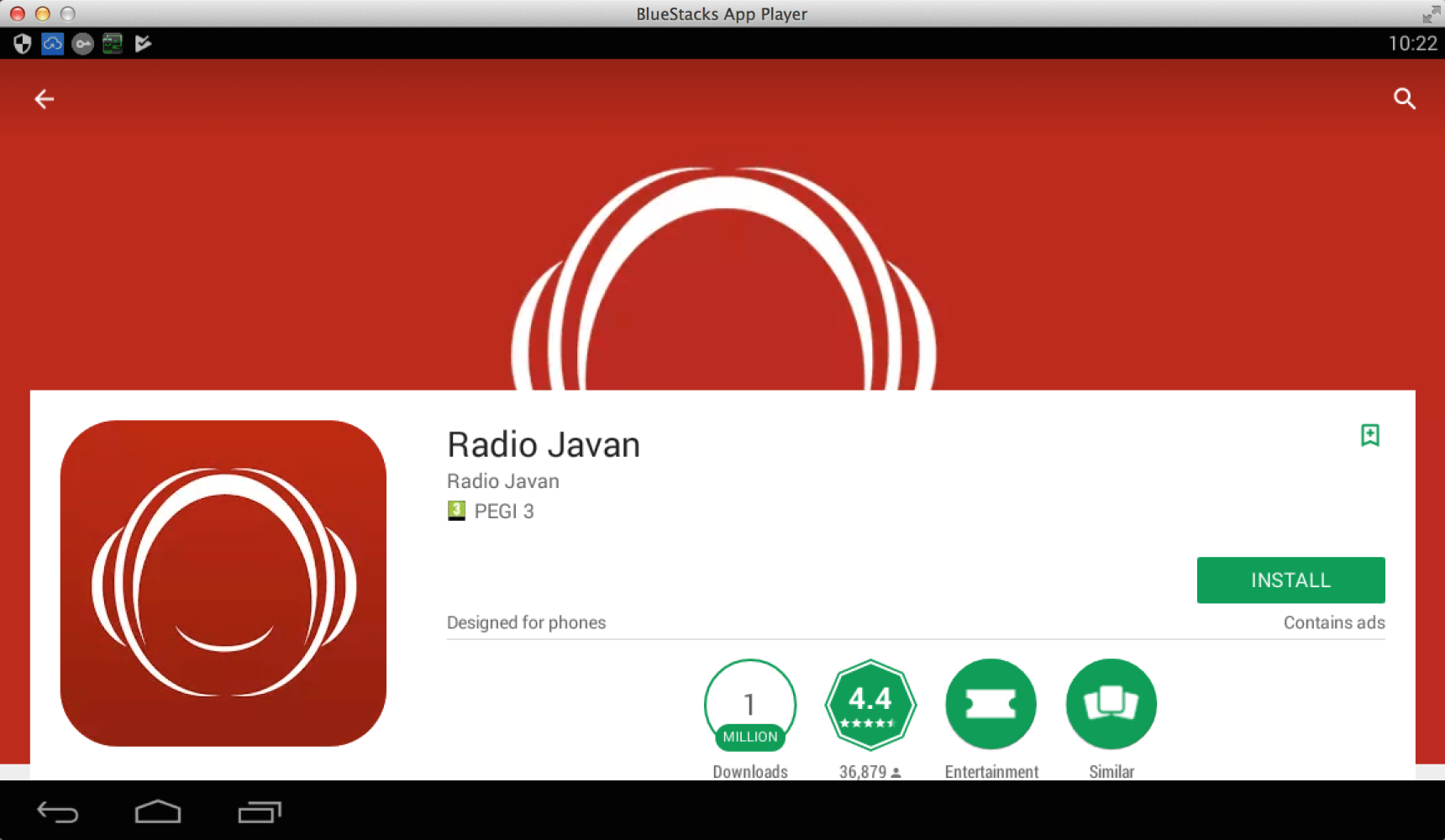 Free download and install Radio Javan on your PC running Windows or